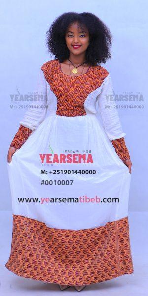 #0010007 Huge Tibeb Lovely Dress